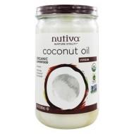 Huile de coco bio NUTIVA 1