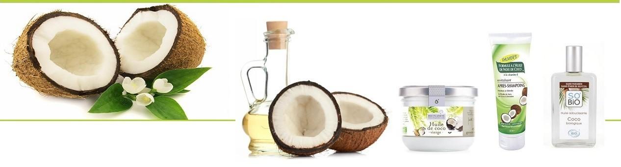 Huile de coco bio cosmetiques